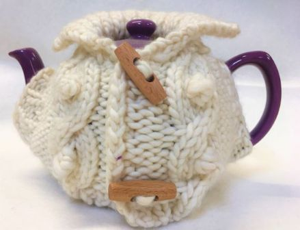 Fyberspates Cable Tea Cosy Knitting Kit